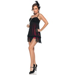 Sexy Flapper Girl Adult Costume