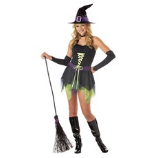 Spunky Witch Teen Costume