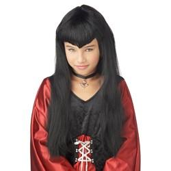 Vampire Girl Wig Child