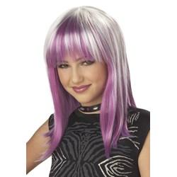 Prismatic Pink Wig Child