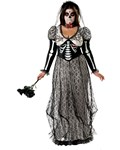 Day Of The Dead Bride Plus Costume