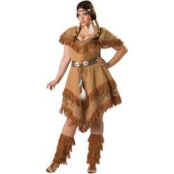 Indian Maiden Adult Plus Costume