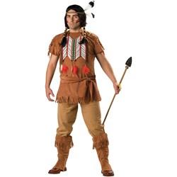 Indian Brave Plus Adult Costume