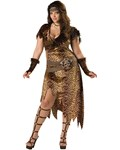 Barbarian Woman Plus Costume