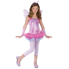 Fluttery Butterfly Child Costume