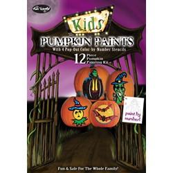 Kids Pumpkin Paints Kit