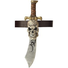 Pirate Sword & Skull Sheath Adult