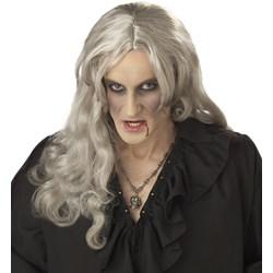 Old World Vampire (Grey) Adult Wig