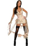 Lilah Costume from Jonah Hex (White & Pink Outfit)