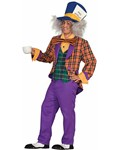 Plaid Mad Hatter Costume
