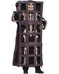 Skeleton in Cage Costume