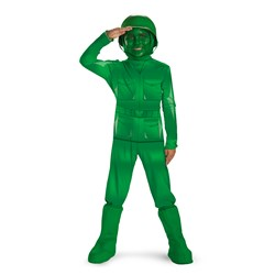 Toy Story - Green Army Man Deluxe Child Costume