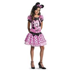 Mickey Mouse Clubhouse - Pink Minnie Mouse Child/Tween Costume