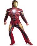 Iron Man Costume Mark 6 Light Up DELUXE