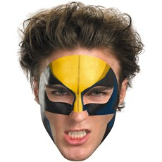 Wolverine Face Tattoo