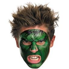 Hulk Face Tattoo