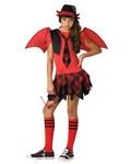 Delinquent Devil Tween Costume