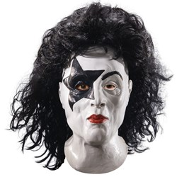 KISS – Starchild Latex Full Mask With Hair Adult