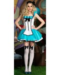 Tea Party Alice Costume DELUXE