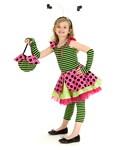 Pink Lady Bug Child Costume