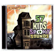 57 Kids Spooky Sounds CD