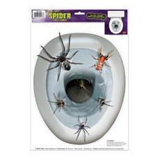 Spider Toilet Topper Peel