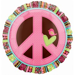 Peace Sign 18″ Foil Balloon