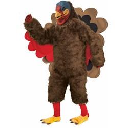 Tom the Turkey Mascot Adult Costume