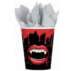 Fangtastic Halloween 9 oz. Paper Cups (18 count)