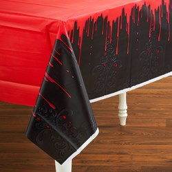 Fangtastic Halloween Plastic Tablecover