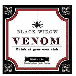 Vampire Elixirs Halloween Beverage Napkins (16 count)