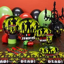 Beware Zombies Halloween Deluxe Party Kit