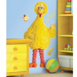 Big Bird Giant Peel and Stick Wall Decals