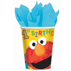 Sesame Street 1st  9 oz. Paper Cups (18 count)