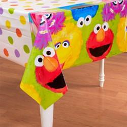 Sesame Street 1st – Plastic Tablecover