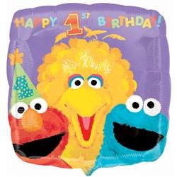 Sesame Street 1st – 18″ Foil Balloon