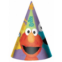 Sesame Street 1st – Cone Hats (8 count)