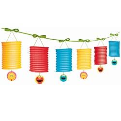 Sesame Street 1st  Paper Lantern Garland