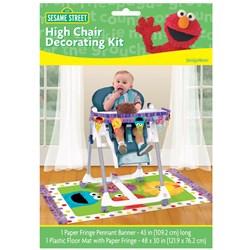 Sesame Street 1st – High Chair Decorating Kit