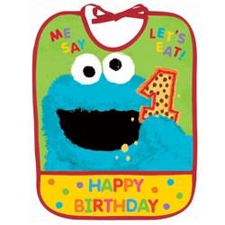 Sesame Street 1st – 1st Birthday Bib