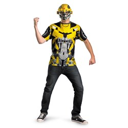 Transformers 3 Bumblebee Costume - Mask And T-Shirt