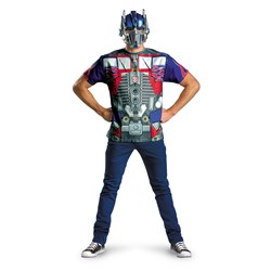 Transformers 3 Optimus Prime Costume - T-Shirt And Mask