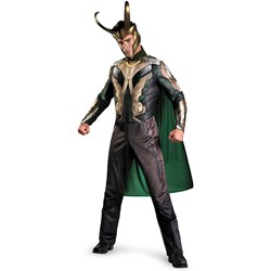 Thor Loki Costume - Thor Movie Deluxe Adult Costume