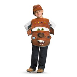 Cars 2 Mater Child Costume