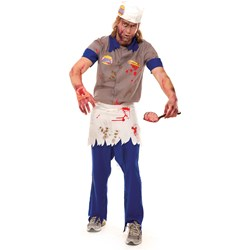 Zombie Burger Guy Adult Costume