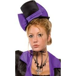 Purple Bow Vampire Hat (Adult)