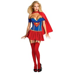 Justice League - Supergirl Corset Adult Costume