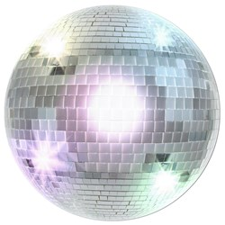 70's Disco Ball Cutout