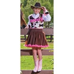 Cowgirl Cutie Tween Costume