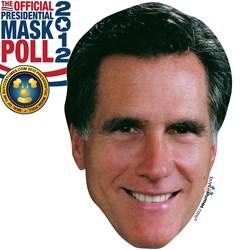Mitt Romney Paper Mask